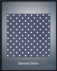 Denim Dots