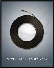 "Adhesive 1/4"" Style Tape"