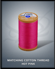 Hot Pink Matching Cotton Thread
