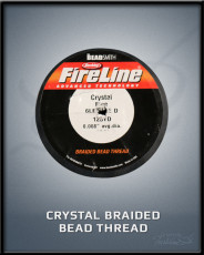 Crystal Braided Bead Thread