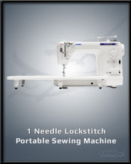 1 Needle Lockstitch Portable Sewing Machine