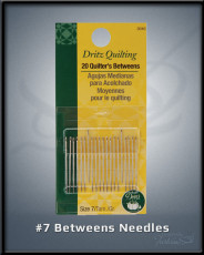 #7 Betweens Needles