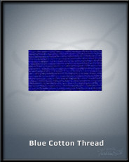 Blue Cotton Thread
