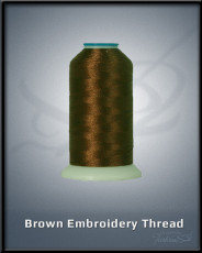 Brown Embroidery Thread
