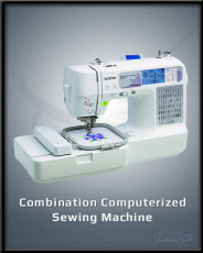 Combination Computerized Sewing Machine