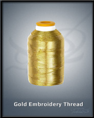Gold Embroidery Thread