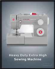 Heavy Duty Extra High Sewing Machine