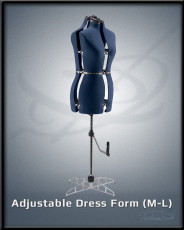 Adjustable Dress Form M-L