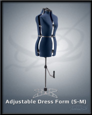 Adjustable Dress Form S-M