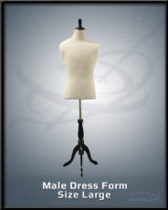 Male Dress Form Size Large
