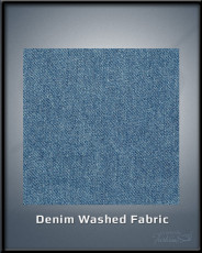 Denim washed Fabric