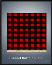 Flannel Buffalo Plaid