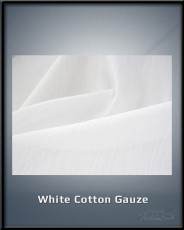 White Cotton Gauze