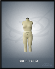 Full Female Body Dress Form Size 10