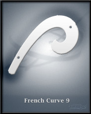 french curve 9