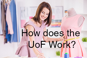 Text: How Does the University of Fashion Work?