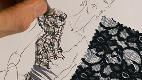 Rendering Lace
