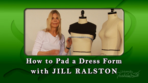 How to Pad a Dress Form