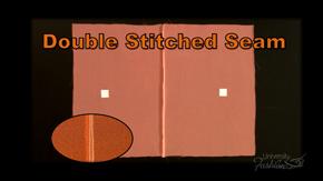 Double Stitched Seam Finish