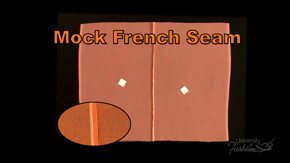 Mock French Seam Finish