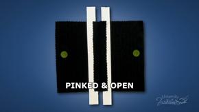 Pinked & Open Seam Finish
