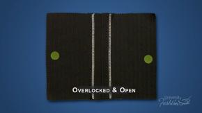 Overlock & Open Seam Finish