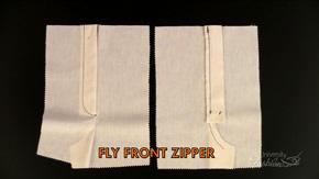 Fly Front Zipper