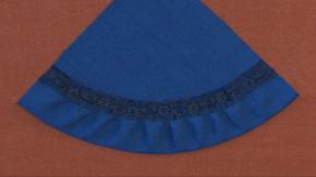 Circular Hem with Lace Binding