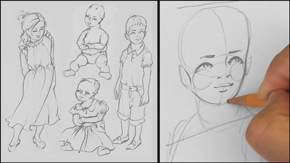 Drawing Children – Infant &Toddlers