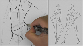 Drawing Female Relaxed Standing Pose