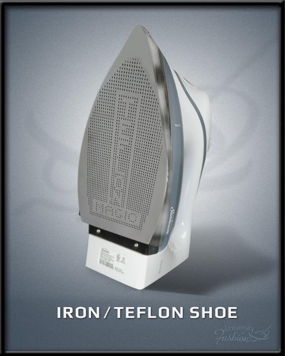 Iron/Teflon Shoe
