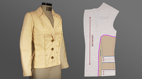 Jacket: Interfacing & Lining
