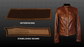 Leather: Interfacing & Stabilizing Seams