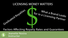 Licensing- Money Matters: Basics