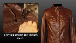 Leather Sewing Techniques – Part 3