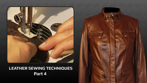 Leather Sewing Techniques – Part 4
