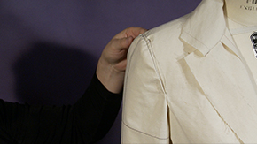 Mounting & Fitting a Suit Jacket Sleeve