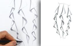 Cascade Skirt Ruffle