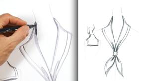 Drawing a Sailor Collar