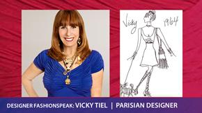Vicky Tiel Interview