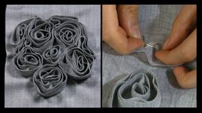 Fabric Manipulation – SwirlPattern