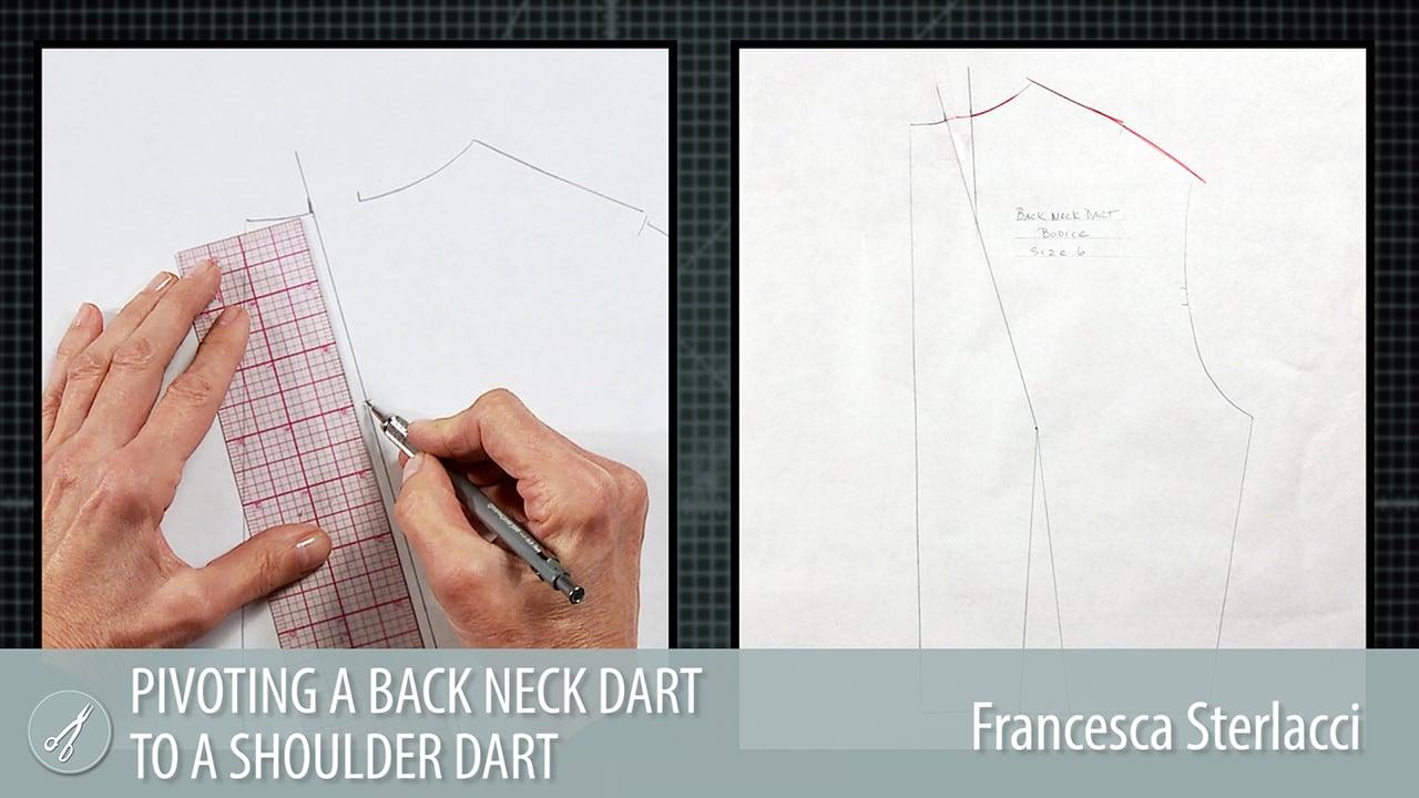 Pivoting a Back-Shoulder Dart to a Back-Neckline Dart - University ...