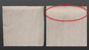 Single Fold Bias Binding – Edgestitch