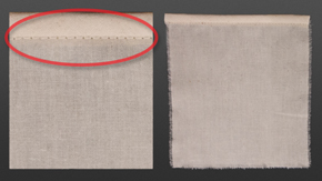 Single Fold Bias Binding- Crackstitch