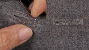 Handmade Straight Buttonhole