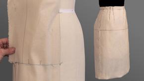 Straight Skirt Sloper