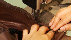 Image showing sample of lesson Sewing Leather Jacket