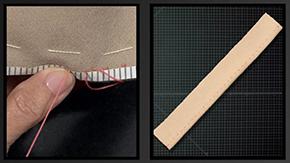 Sewing a Pickstitch