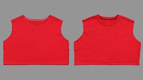 Knit-Necklines – Overlock/Chainstitch & Banded Neckline/Two Needle Coverstitch