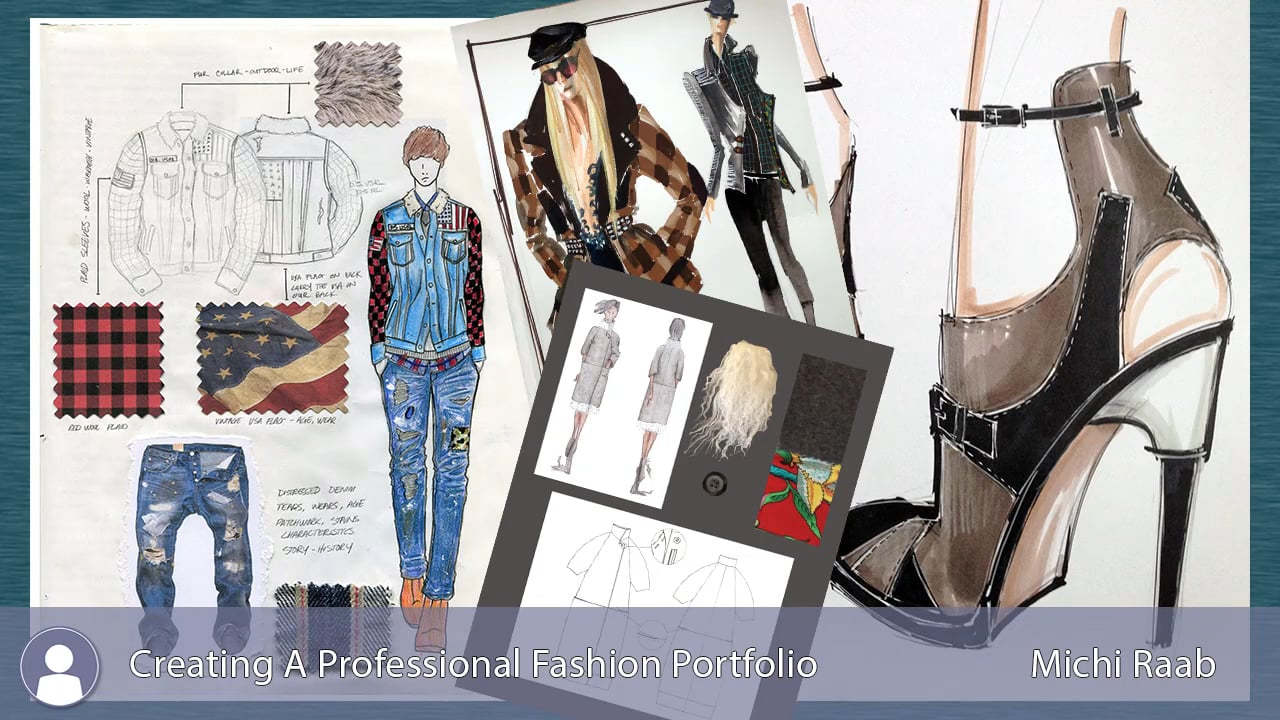 Fashion Portfolio Examples Images